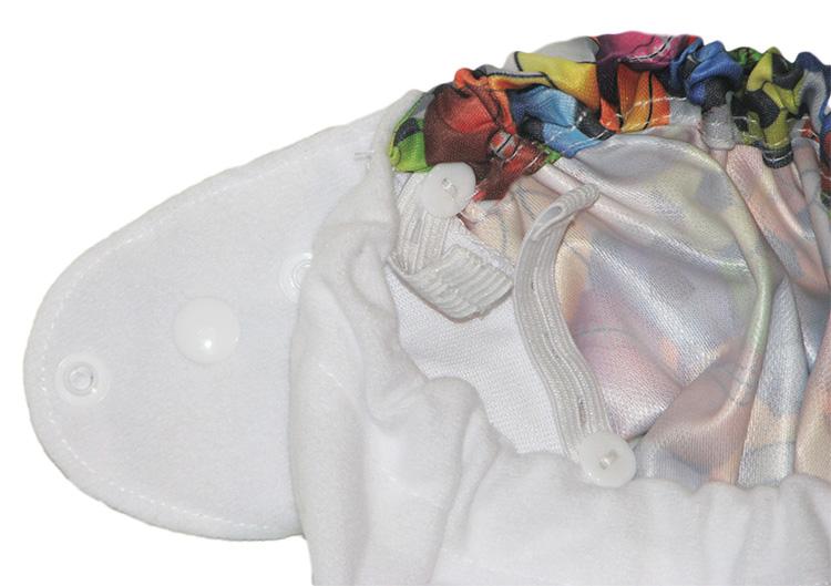 Регулируемая резинка в области бёдер  малыша